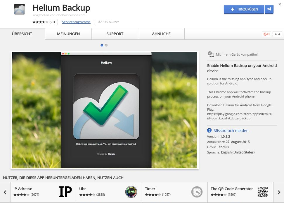 helium backup chrome