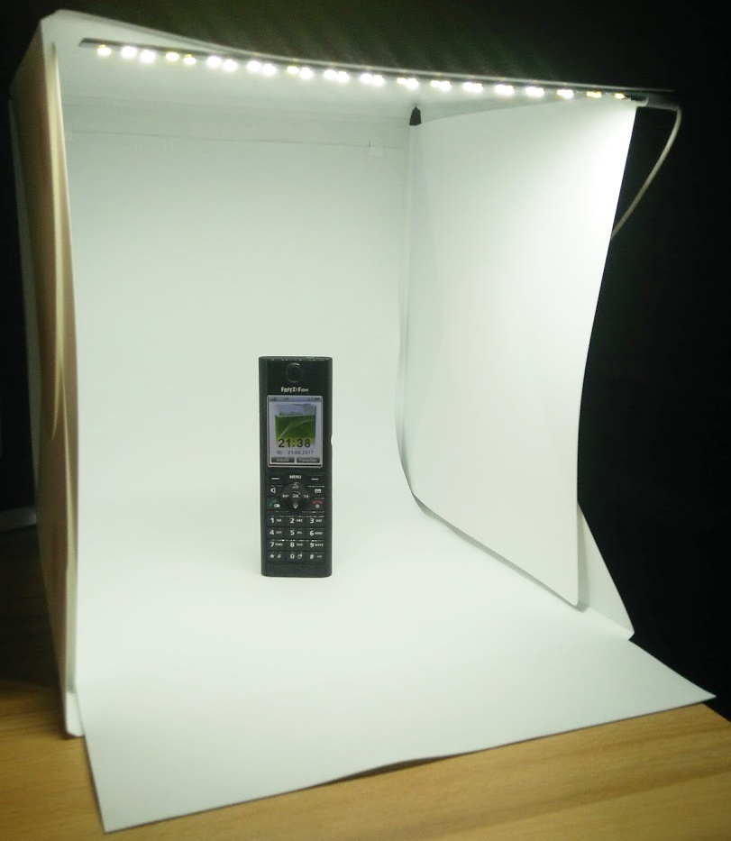 fotostudio mit led