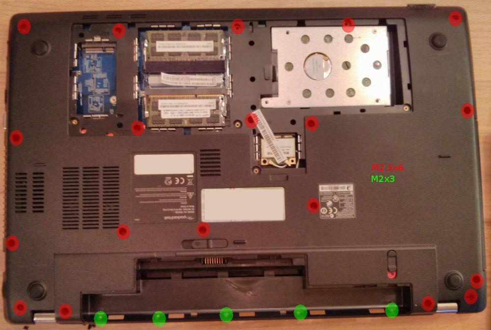 Mytec Blog Tausch Der Tastatur Eines Packard Bell Ms2290